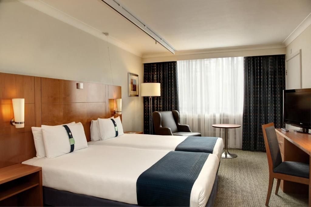 Habitación Doble Holiday Inn Cardiff City Centre Medio Maratón Cardiff Travelmarathon.es