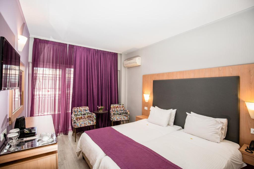 Habitación Doble Polis Grand Hotel Maratón Atenas Travelmarathon.es