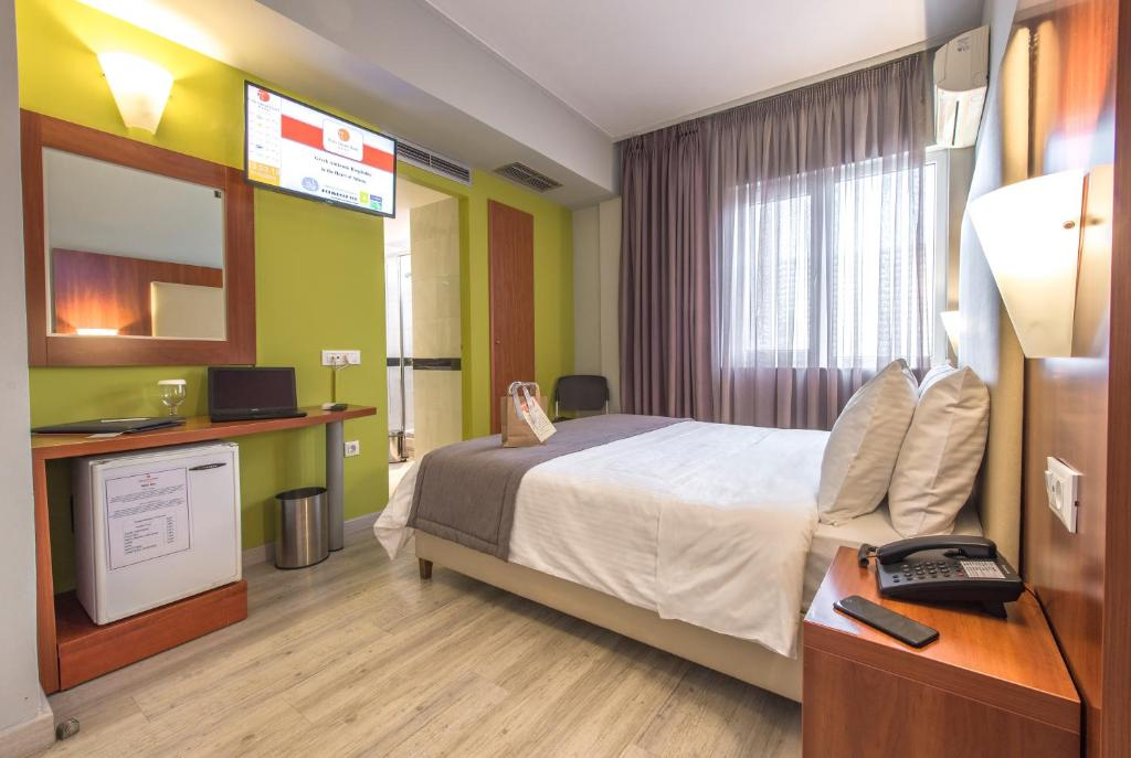 Habitación Individual Polis Grand Hotel Maratón Atenas Travelmarathon.es
